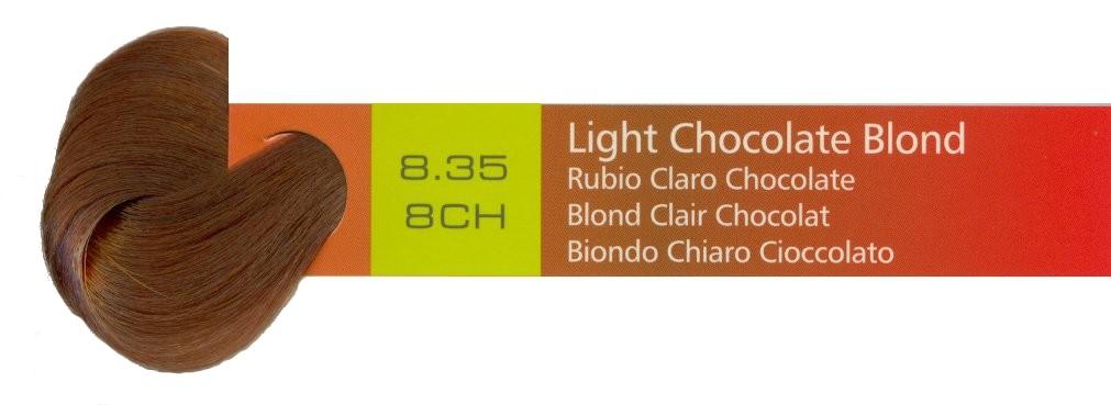 Light Chocolate Blond 835 8ch 100ml 34oz
